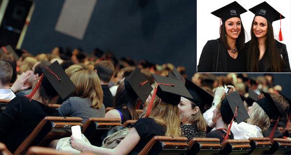 Des diplômés de l'IAE Grenoble. Photos : IAE Grenoble.