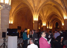Sous les voûtes de la Conciergerie, le 3 juin 2010, l'ancienne prison royale qui jouxte le Palais de juste et le Quai des orfèvres.