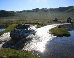 Objectif : rejoindre Oulan Bator, avec l'aide humanitaire pour les populations mongols.