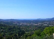 Les collines de Grasse, où avait lieu le week-end de l'ICN.