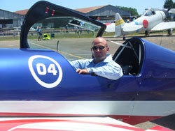 Renaud Ecalle, ici lors du meeting aérien Euroflyin en juillet 2010. (Photos : P-L Lensel)