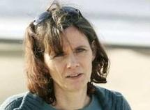 Florence Aubenas, ex-otage en Irak.