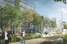 Le futur campus de Bordeaux