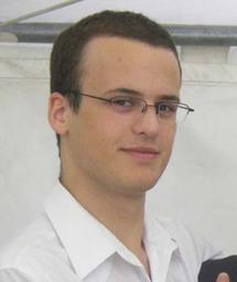 Emmanuel, étudiant à l'Ecole hôtelière de Lausanne