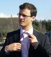 A Lausanne lors de la journée de sélection. Cravate de rigueur...