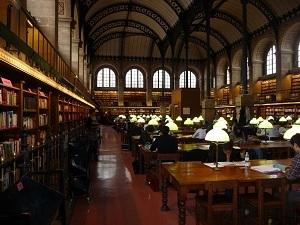 La Bibliothèque Sainte-Geneviève est son domaine