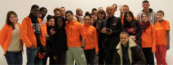 Des jeunes du programme Booster proposé par Unis-Cité aux décrocheurs de moins de 18 ans.