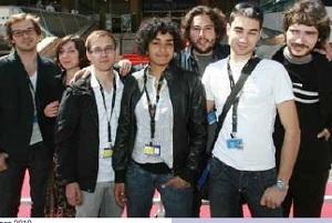 Le jury-jeunes à Cannes en 2010
