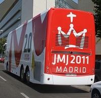 Journées mondiales de la jeunesse (JMJ) : plus d'un million de jeunes à Madrid