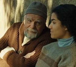 Michaël Lonsdale joue Frère Luc dans ''Des hommes et des dieux''.