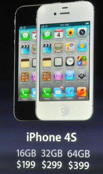 Apple présente son nouvel iPhone 4S