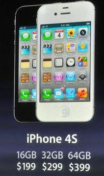 Apple présente son nouvel iPhone 4S