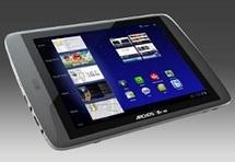 La tablette Archos80 G9 proposée