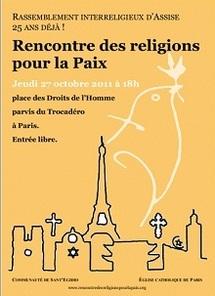 Les religions se rencontrent à nouveau à Assise en faveur de la Paix