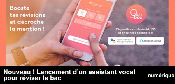 Bac 2019 : l'appli Quiz ton bac propose un assistant vocal de révisions