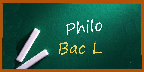Les sujets et les corrigés de philo du bac L