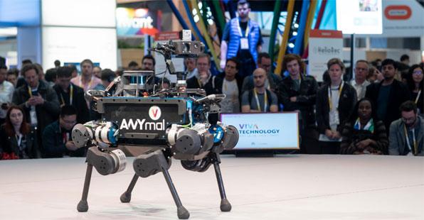 Présentation du robot ANYmal © Meero / Viva Tehnology 2019
