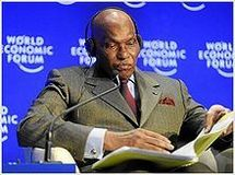 Abdoulaye Wade, le président sénégalais.