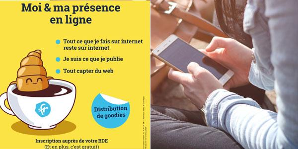 Maîtriser sa e-réputation : des ateliers et une campagne pour les 16-25 ans