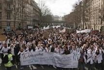 Dans les rues de Paris le 8 mars 2012. Photo : FFO.