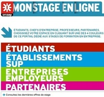 Stages étudiants en entreprise : l'Onisep lance un site national