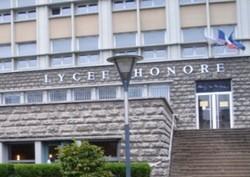 Le lycée Honoré de Balzac à Paris.