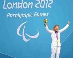 La nageuse Elodie Lorendi rapporte 4 médailles. Photo: franceparalympique