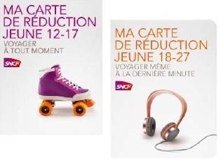 La SNCF lance la carte 12-17 et la carte 18-27