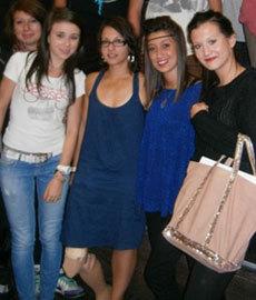 Avec des lycéens de Nimes.