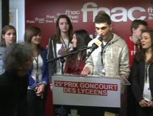 Le Prix Goncourt des lycéens 2012 décerné au thriller de Joël Dicker
