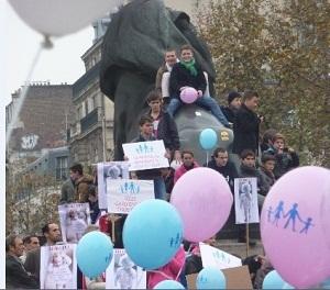"""Manifestations contre le """"mariage pour tous"""" : des jeunes en première ligne"""