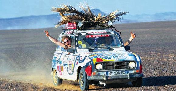 4L Trophy 2013 : avant le rallye, la course aux sponsors bat son plein