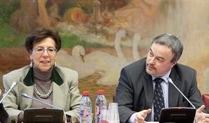 Les deux rapporteurs au Sénat. Photo : Sénat / Sonia Benromdhane