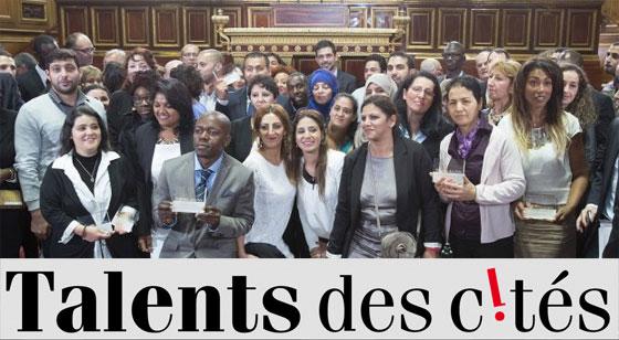 Les lauréats nationaux au Sénat en 2014. Photo : David Delaporte / Talents des cités