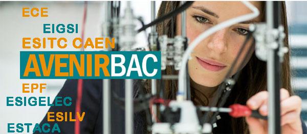Le concours AvenirBac donne accès à 7 écoles d'ingénieurs, sur 12 campus.