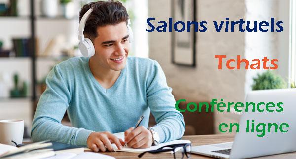 Orientation : salons et conseillers basculent vers des formats 100% en ligne