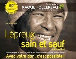 Journée mondiale des lépreux : la Fondation Raoul Follereau collecte les dons et les sourires