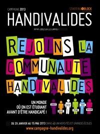 La campagne Handivalides débute sa tournée des campus étudiants