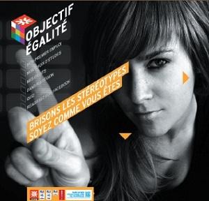 Image d'accueil du site objectifegalité.onisep.fr