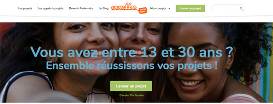 La page d'accueil du site wweeddoo.com