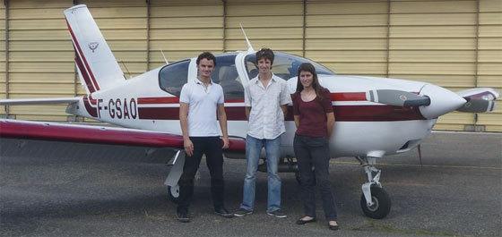 Trois étudiants ingénieurs ISAE font un tour d'Europe en avion