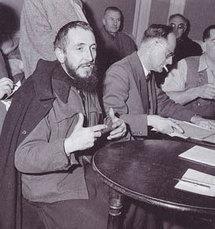 L'abbé Pierre en 1954.