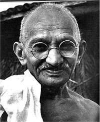 Gandhi, photo : wikipedia