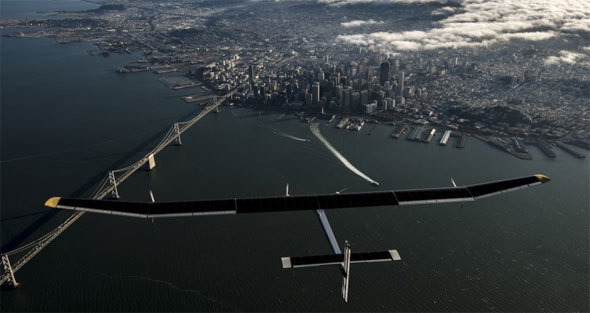 Vol au-dessus du Golden Gate © Solar Impulse | J. Revillard