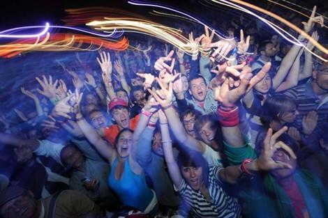 Même pas peur de la foule ! (photo T. Brégardis)
