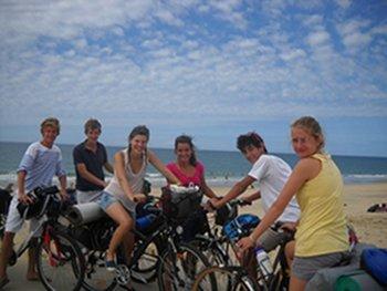 Une bande d'amis... et des vélos !