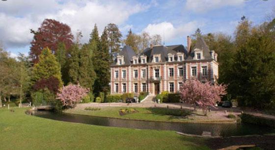 Le lycée agricole de Tourville sur Pont-Audemer en Normandie.