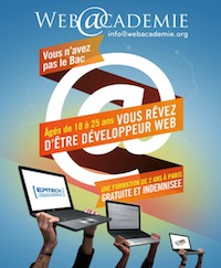 Web@cadémie : l'informatique comme seconde chance