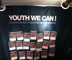 Une affiche des soirées dédiées aux jeunes entrepreneurs sociaux