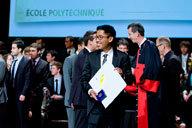 Remise de diplôme à l'Ecole Polytechnique.